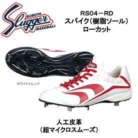 久保田スラッガー 樹脂底スパイク(ローカット) RS04-RD