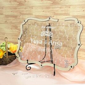 ウェディングドロップス ティアラ ドロップス 木製 アクリル ウエルカムボード ペーパーアイテム 結婚式 披露宴 ウエディング