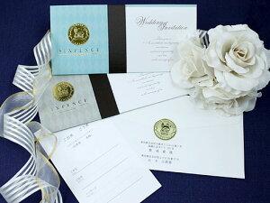 シックスペンス 招待状 印刷なし セット 手作り キット ペーパーアイテム 結婚式 披露宴 ウエディング