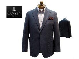 LANVIN COLLECTION 国内縫製 シルク・カシミヤ Wフェイス ニットジャケット グレンチェック柄 超軽量 秋・冬モデル アンコン仕立て イタリア製生地使用 あす楽対応 A5・A6・AB4・AB5・AB6・B5サイズ