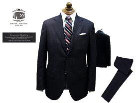 Jプレス J.PRESS(ジェイ・プレス) MEN Essential Clothing オルターネイト・ストライプ柄 スーツ ネイビー 2釦 2019年秋・冬モデル 新定番 CLASSICS 2Bモデル あす楽対応 ニュースタイル