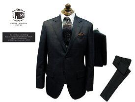 Jプレス J.PRESS(ジェイ・プレス) MEN Essential Clothing ミキシングチェック柄 スーツ グレー 2釦&センターベント 2019年秋・冬モデル CLASSICS 2Bモデル あす楽対応 ニュースタイル