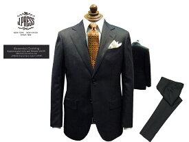 Jプレス J.PRESS(ジェイ・プレス) MEN Essential Clothing シャドーヘリンボーン柄 スーツ チャコール・グレー 2釦 2019年秋・冬モデル 新定番 CLASSICS 2Bモデル あす楽対応 ニュースタイル