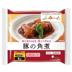 【冷凍】介護食あいーと 豚の角煮 57g [やわらか食/介護食品]
