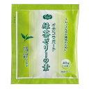 水分補給 イオンサポート 緑茶ゼリーの素 40g