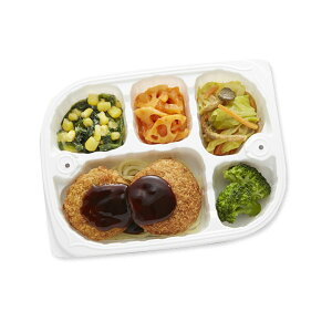 【冷凍】いきいき御膳 ヒレかつ&肉じゃがコロッケ 200g [腎臓病食/低たんぱく食品/たんぱく調整]