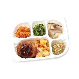 【冷凍】いきいき御膳 メンチかつ 215g [腎臓病食/低たんぱく食品/たんぱく調整]