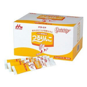 とろみ剤 クリニコ つるりんこQuickly 3g×50本 [介護食/介護用品]