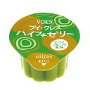 ブイ・クレス ハイプチゼリー キウイフルーツ風味 23g×24個 ブイクレス [腎臓病食/低たんぱく食品/高カロリー]