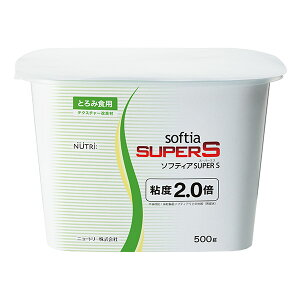 とろみ剤 ニュートリー ソフティアSUPER S (innobox) 500g×12 とろみ調整【送料無料】 [介護食/介護用品]