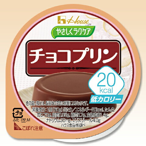 低カロリー やさしくラクケア 20kcalチョコプリン 60g