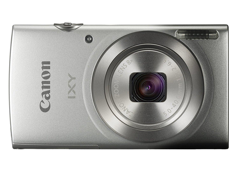 新品 Canon キヤノン デジタルカメラ IXY 180 シルバー 光学8倍ズーム IXY180SL