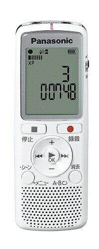 パナソニック Panasonic ICレコーダー 2GB ホワイト RR-QR220-W