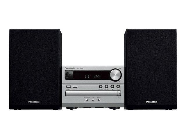 パナソニック CDステレオシステム USBメモリー/Bluetooth対応 シルバー SC-PM250-S