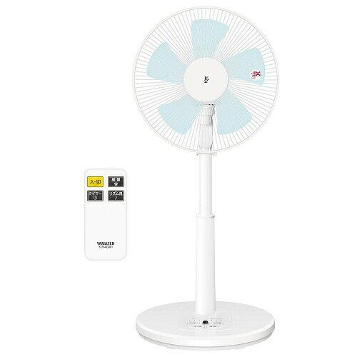 山善 YAMAZEN 30cm おしゃれ リビング扇風機 タイマー付 YLR-AG301(W)