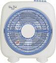 山善(YAMAZEN) 25cm ボックス扇風機 ホワイトブルー YBS-B256(WA)