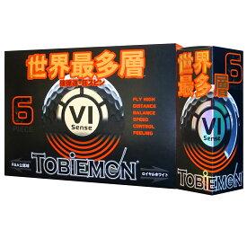 ゴルフ用品 ゴルフボール ゴルフウェア 新品 TOBIEMON トビエモン 最多層 6ピース構造 ゴルフボール ロイヤルホワイト