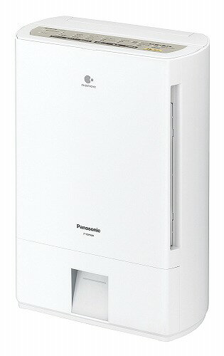 新品 パナソニック Panasonic 衣類乾燥除湿機 ナノイー 搭載 デシカント式 シルキーシャンパン F-YZPX80-N