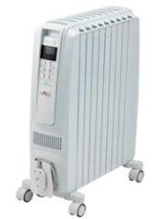 デロンギ オイルヒーター ドラゴンデジタル スマート 10〜13畳用 QSD0915-WH