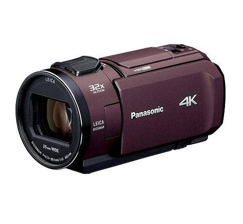 新品 Panasonic デジタル4Kビデオカメラ VZX1M 64GB あとから補正 ブラウン HC-VZX1M-T