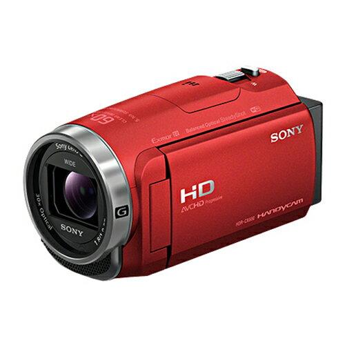 ソニー SONY HDム−ビ− HDR-CX680 R レッド