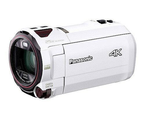 新品 Panasonic 4K ビデオカメラ VZX990M 64GB あとから補正 ホワイト HC-VZX990M-W 運動会 おすすめ 送料無料 (離島、沖縄除く)