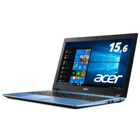 Acer ノートパソコンAspire 3 A315-32-N14U/BF Celeron/4GB/256GB SSD/ドライブなし/15.6型/Windows 10/Office H&B/ブルー
