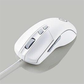 エレコム M-G01URWH 5ボタン搭載ゲーミングマウス MG01URWH