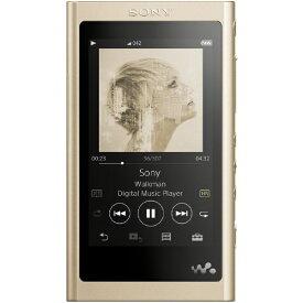 ソニー SONY ウォークマン A50シリーズ 16GB ヘッドホン非同梱モデル ハイレゾウォークマン WALKMAN 2018年モデル ペールゴールド NW-A55