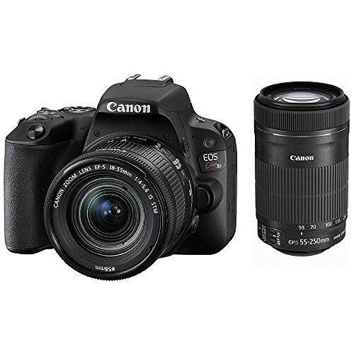 デジタル一眼レフカメラ EOS Kiss X9 ダブルズームキット (ブラック) EOSKISSX9BK-WZKIT