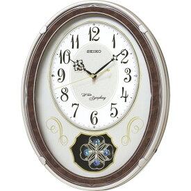 セイコー ウェーブシンフォニー 電波正時メロディ掛時計 C8061114
