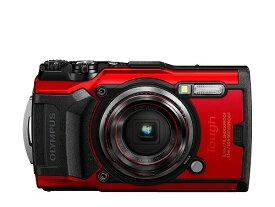 送料無料 防水 カメラ おすすめ OLYMPUS デジタルカメラ Tough TG-6 レッド 1200万画素CMOS F2.0 15m 防水 100kgf耐荷重 GPS 内蔵Wi-Fi TG-6RED