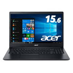 送料無料AcerノートパソコンAspire3A315-34-F14U/KFWindows10CeleronN40004GB256GBSSD15.6型OfficeH&B2019ブラック
