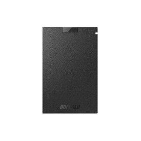 外付けSSD USB3.1(Gen1) ポータブルSSD 480GB ブラック バッファロー SSD-PG480U3-BA