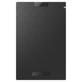 外付けSSD USB3.1(Gen1) ポータブルSSD 960GB ブラック バッファロー SSD-PG960U3-BA
