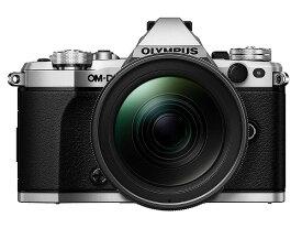 送料無料(沖縄、離島除く) OLYMPUS ミラーレス一眼カメラ OM-D E-M5 MarkII 12-40mm F2.8 レンズキット シルバー E-M5 MarkII 12-40mm F2.8 PRO LK SLV
