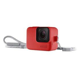 ゴープロ GoPro ACSST-005 スリーブ+ランヤード レッド カメラアクセサリー