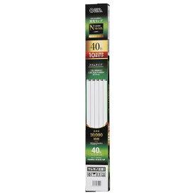 【10本セット】直管蛍光ランプ ラピッドスタート形 40形 昼白色 オーム FLR40SSEX-N/32/10P