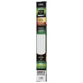 【10本セット】直管蛍光ランプ グロースタータ形 40形 昼白色 オーム FL40SSEX-N/36/10P