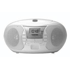 TOSHIBA 東芝 CD-R,CD-RW再生 ワイドFM CDラジオ TY-C11