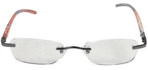 老眼鏡 シニアグラス ふちなしタイプ エール AF102S 1.0