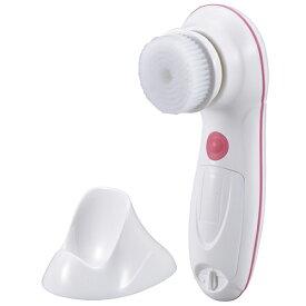 新品 オーム電機 OHM Iberis 電動洗顔ブラシ ホワイト 00-5805 HB-FWK1-W