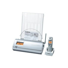 デジタルコードレス普通紙ファクス 子機1台付き シルバー パナソニック KX-PW513DL