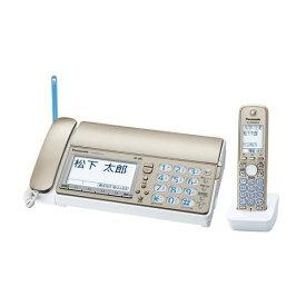 デジタルコードレス普通紙ファクス 子機1台付き シャンパンゴールド パナソニック KX-PD601DL-N