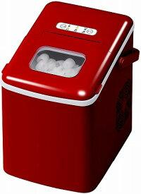 製氷機 家庭用 家庭用コンパクト高速製氷機 ハンドル付き VS-ICE06 家庭用製氷機 製氷器 氷メーカー VERSOS VSICE06 レッド かき氷 アウトドア バーベキュー 釣りに