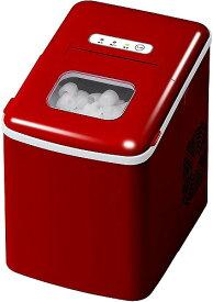 高速製氷機 家庭用 製氷器 ベルソス VERSOS VS-ICE05 R レッド