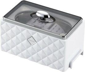 ツインバード 超音波洗浄器 ホワイト EC-4548W 眼鏡 腕時計 貴金属