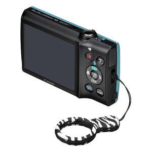 コンパクトカメラ用ストラップ フィンガーリングストラップ KST-52ZB [ゼブラ]