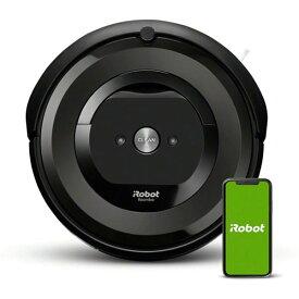 ルンバe5 アイロボット ロボット掃除機 ルンバ 洗える ダストボックス WiFi アプリ対応 吸引力 ブラック irobot 掃除機 クリーナー e515060