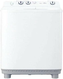 洗濯機 二層式 二槽 4.5kg 二槽式洗濯機 ハイアール Haier JW-W45E ホワイト